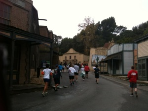 A real 5K through a fake town
