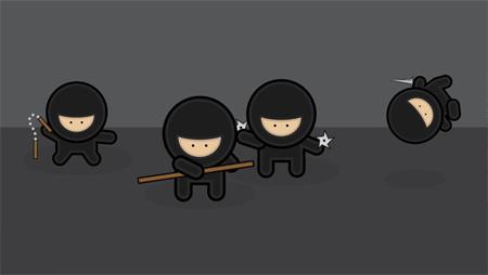 image courtesy of chris spooner (http://blog.spoongraphics.co.uk/tutorials/illustrator-tutorial-create-a-gang-of-vector-ninjas)