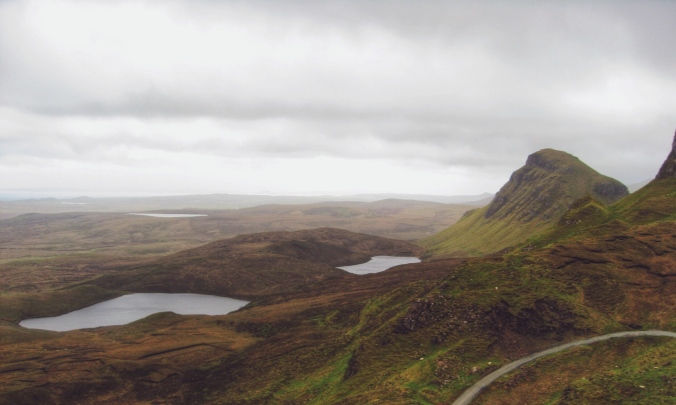 View from Cuith-Raing, Highlands, Scotland