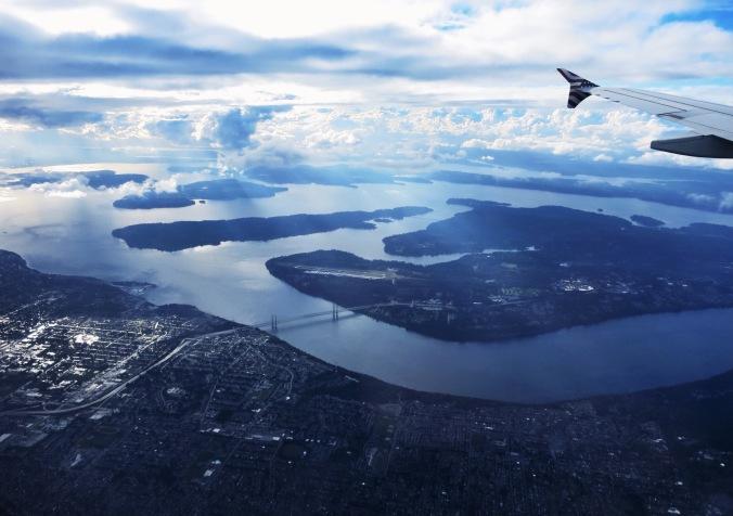 Arriving in Seattle