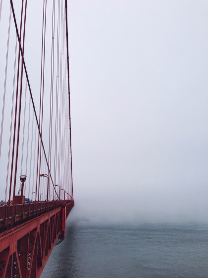 the disappearance of the golden gate bridge