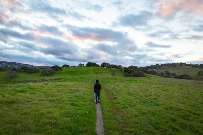 My brother took this photo as we explored Fort Ord National Monument (Laguna Seca trailhead, Salinas CA)